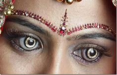 World's first Diamond and Gold contact lenses