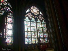 Notre Dame de Paris vetrate
