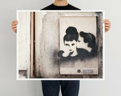"Paris Photograph, ""Graffiti Kiss"" Paris Print Shop - $148"