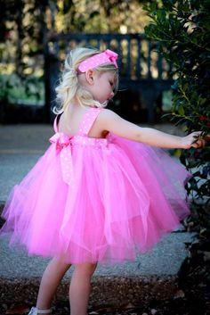 Amazon.com: Hot Pink Tutu Dress for Girl's Dress up Set of 3 : Tutu Dress, Bloomer and Headband: Toys & Games