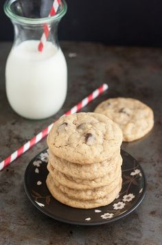 Brown Butter Oatmeal Chocolate Chip Cookies by Tracey's Culinary Adventures, via Flickr