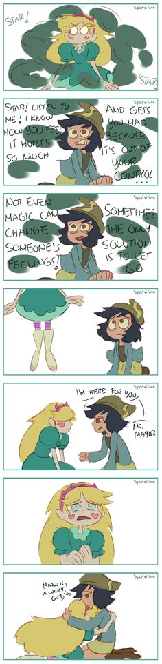 Oh no Star. Marco and Jackie just got together…