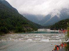 Let's travel to #china  ! .Don't miss our offers ...click here : http://www.oneworldtrips.com/ Blue Moon Valley is located near Lijiang, in Yunnan province China. Blue Moon Valley gets the water out of the melting snow that runs from the mountains and forms four lakes and a few waterfalls. The head of the valley is one of the main tourist sites and has natural white water terraces. the water often appear as an amazing turquoise-blue. This a amazing place to visit !!!#trave