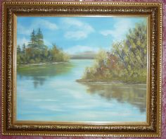 Oil painting Landscape Continuation Original size 16x20 NEW #Impressionism84.99 http://www.ebay.com/itm/Oil-painting-Landscape-Continuation-Original-size-16x20-NEW-/231046578347?pt=Art_Paintings&hash=item35cb7300ab