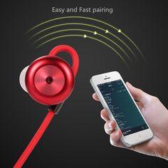Sport écouteurs Bluetooth Écouteur Sans Fil Casque Stéréo Musique En Plein  Air Sport Écouteurs pour Téléphones Intelligents 6f5c05b56bf49