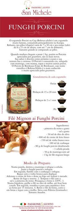 San Michelle - Funghi Sechi by Renova - Artes Gráficas - +55 47 9699-0000 - renovaartes@gmail.com at Coroflot.com