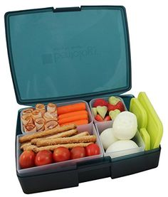 Bentology Leakproof Translucent Midnight Bento Lunch Box with 5 Pear Containers Bentology http://www.amazon.com/dp/B00TKO2D0M/ref=cm_sw_r_pi_dp_Vy2qwb07FAFT6