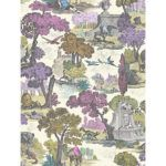 Versailles wallpaper set by Cole & Son, available from John Lewis