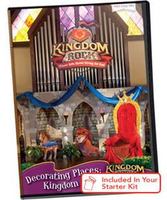 Kingdom Rock VBS | Decorating Places: Kingdom Rock DVD | Decorating Ideas From Master Designer Bruce Barry. #VBS
