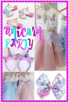 Unicorn Party Dress Ideas
