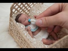 "Miniature Silicone Baby ""Tiny Timmy"" - YouTube"