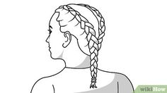 Image titled Do Double French Braids Step 25