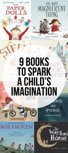 A few days ago I shared that books are one of my favorite ways to foster imagination in children and today I wanted share a few of our favorite imaginative book Kids Reading, Teaching Reading, Reading Lists, Learning Piano, Reading Nook, Teaching Art, Books To Read, My Books, Budget Planer