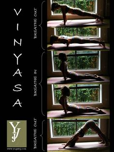 Hot Vinyasa - this sequence is hard for me, but I still feel AWESOME and want to get this down perfectly here soon.