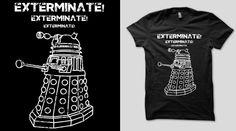 Dr. Who Dalek Shirt <3 qwertee