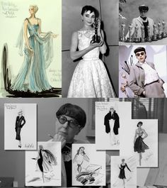 Edith Head, the genius behind the most breathtaking Hollywood costume departments for decades.  No one better.