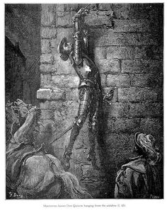 QuixoteHanging Gustave Doré http://www.openculture.com/2013/12/gustave-dores-definitive-engravings-of-don-quixote.html