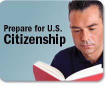 Visit the U.S. Citizenship and Immigration page to learn about the requirements to apply for citizenship: http://www.uscis.gov/citizenship