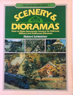 Scenery & Dioramas Chilton Hobby Series 1983 Railroad Military & Dollhouse
