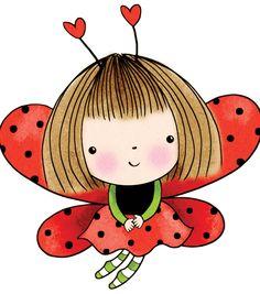 Penny Black Rubber Stamp-Love Antennae