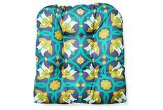 Agios Outdoor Chair Cushion, Green on OneKingsLane.com