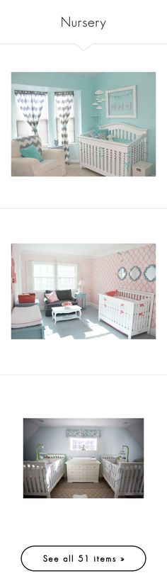 """""""Nursery"""" by laceyleanne18 ❤ liked on Polyvore featuring house, nursery, baby, baby stuff, home, rooms, bedrooms, nurseries, children's room and children's furniture"""