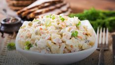 Potato Salad, Grains, Potatoes, Rice, Ethnic Recipes, Food, Salads, Potato, Meals