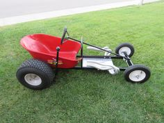 Soap Box Derby Car from a wheel barrow and a few other random things :) LaClair Creations