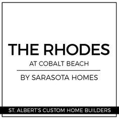 Custom Home Builders, Custom Homes, Rhodes, Cobalt, Building A House, Beach, The Beach, Build House, Beaches