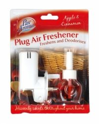 Plug In Air Freshener Soothing Pan Aroma Freshens & Conditions 4 Different Type Air Freshener, Health And Beauty, Plugs, Household, Conditioner, Fragrance, Diy, Apple Cinnamon, Furniture
