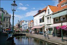 Binnenstad van Maassluis nabij Wilgenrijk