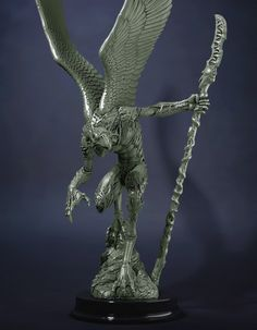 Vulture Demon / Greater Demon of Tzeentch by Creature Caster