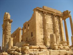 Palmyra, Syria, the remains of the great Roman Empire