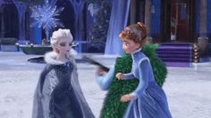 YOU BETTER NOT TOUCH MY BEAUTIFUL NEW DRESS - Elsa, probably