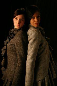 Ardalanish Flounce Coats by Anja , Swedish Designer