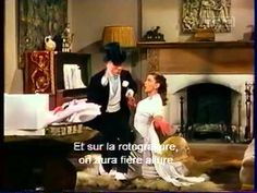 """""""The Easter Parade""""   Judy Garland and Fred Astaire,   final scene"""