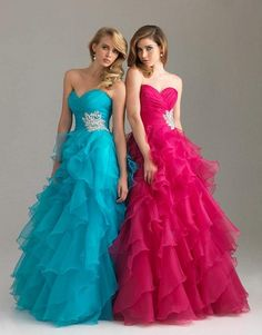 Long+Puffy+Prom+Dresses | long puffy prom dress pretty Long puffy prom dress Party Night Begins