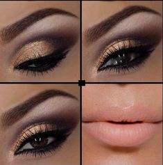 Makeup for Brown Eyes! Love the different shades/tones and  you can never go wrong with a pastel pink lip! Muah :)