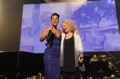 #AliciaKeys has a friend in #CaroleKing, who joined her onstage for a performance at Keep A Child Alive's 10th Annual Black Ball on Nov. 7, 2013 at #HammersteinBallroom in New York  http://celebhotspots.com/hotspot/?hotspotid=5270&next=1