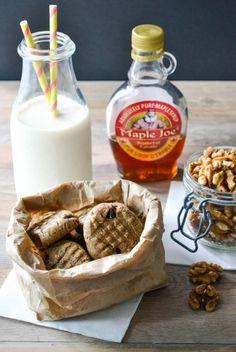 des fruits et des légumes Cookies noix erable vegan sans gluten-6