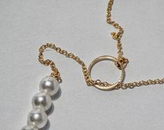 Handmade jewellery pearl and gold necklace, dropnecklace pearl, Travel Planner, Life Planner, Happy Planner, Handmade Jewellery, Unique Jewelry, Handmade Gifts, Planner Inserts, Pearl Jewelry, Etsy Seller