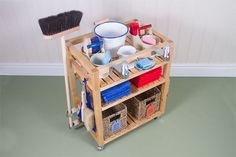 Environment Trolley - Montessori Design