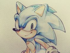 Sonic the Hedgehog Sonic The Hedgehog, Hedgehog Movie, Shadow The Hedgehog, Baby Disney Characters, Sonic Fan Characters, Nintendo Characters, Hedgehog Drawing, Sonic Underground, Sonic Franchise