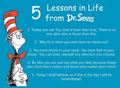 5 Lessons in Life from Dr. Seuss