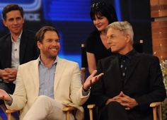 Part of the NCIS cast :) Brian Dietzen, Michael Weatherly, Pauley Perrette and Mark Harmon