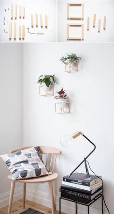 Diy Wall Art, Diy Wall Decor, Bedroom Decor, Home Decor, Art Decor, Diy Wanddekorationen, Easy Diy, Mural Floral, Diy Casa