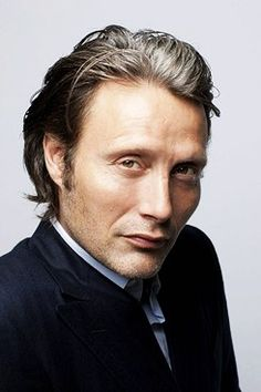 Mads Mikkelsen photographed by Gerard Giaume