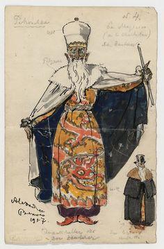 1911, Petrushka: Set Design , Ballets Russes   The Red List
