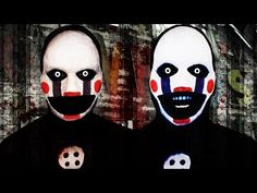 Five Nights at Freddy's - Marionette - Makeup Tutorial! - YouTube