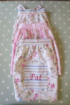 Personalised half aprons £17 each